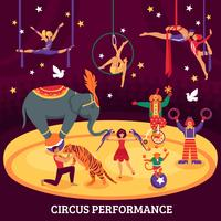 Cirkus Performance Flat Composition