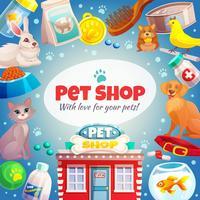 Pet Shop Frame Bakgrund