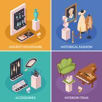 Museumsausstellung 2x2 Design Concept
