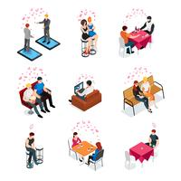 Gay Dating Isometric Compositions