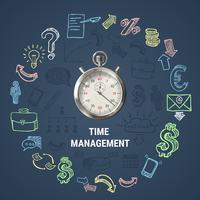 Zeitmanagement-Rundenzusammensetzung