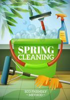 Vårt rengöringsaffisch