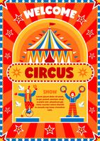 Cirkus Visa Välkomstaffisch