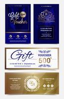 Geschenkgutschein-Design-Set