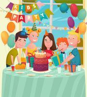 B-Day Party Kinder Zusammensetzung