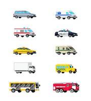 Kraftfahrzeuge-Icon-Set