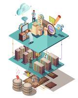 Isometrisches Konzept der Datenanalyse