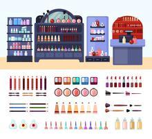 Hälsa och skönhetsbutik vektor