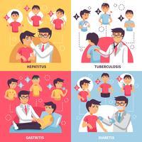 Diagnos sjukdomar konceptuell sammansättning