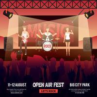 Open Air Festival Banner
