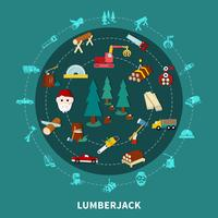 lumberjack runda komposition