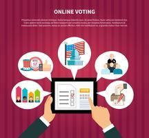 Online omröstning i val