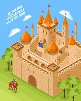 Zusammensetzung des königlichen Schlosses