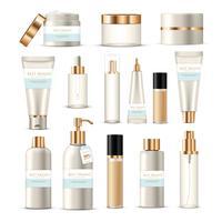 Kosmetische Verpackungstuben eingestellt
