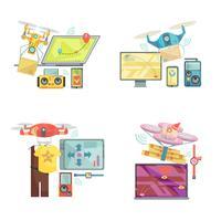Använda Drone Concept