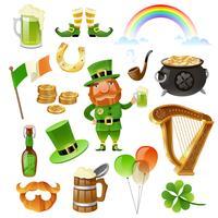 St. Patrick Day Elements Set vektor