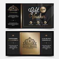 Geschenkgutschein Royal Brand Template