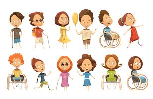 Handikappade barnsats