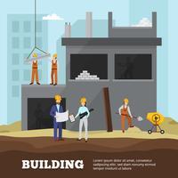 Gebäude Hintergrund Illustration vektor