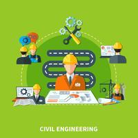 Building Development Ikoner Sammansättning