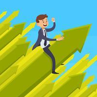 Karriereentwicklung-Design-Konzept