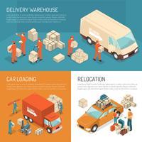 Lieferung, die Design-Konzept bewegt