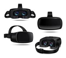 Realistisches VR-Headset
