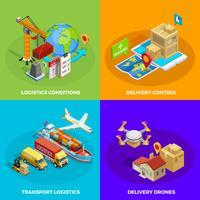 Logistisches isometrisches Konzept