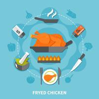 Matlagning Plattform vektor