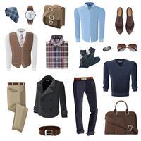 Mode-Geschäftsmann Zubehör eingestellt