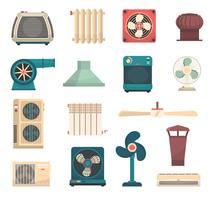 Ventilationskonditioneringsvärmesystemsats