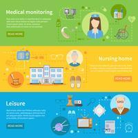 Altenpflege im horizontalen Pflegeheim