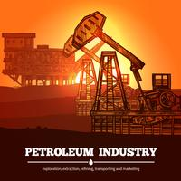 Petroleum Industri Design Concept