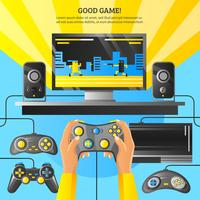 Spiel-Gadget-Illustration