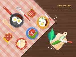 Zeit, Poster zu kochen