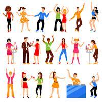 Disco-Party-Icons gesetzt