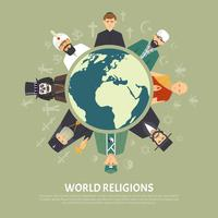 religion erkännande illustration
