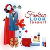 Fashion Look Hintergrund
