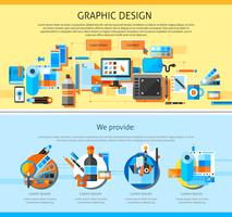 Grafisk Konst Sida Design
