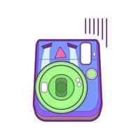 söt kamera klistermärke emoticon