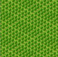 Isometrischer Park 3d mit einem Grün vektor