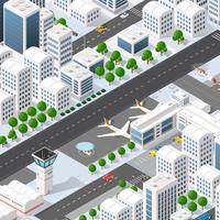 Stadt Megapolis Struktur vektor