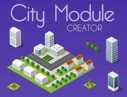 Stadsmodul skapare