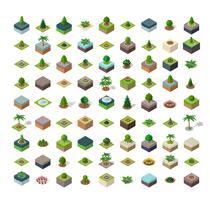 Naturparkens urbana landskap vektor