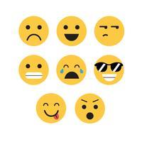 emojis vektor uppsättning
