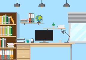 Büro-Studio-Vektor-Illustration vektor