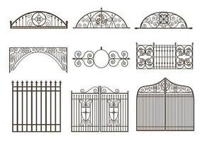 Gates und Zäune Vector Pack