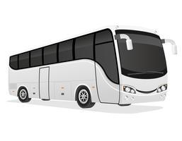große Tourbus-Vektorillustration vektor
