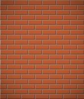 vägg av röd tegel sömlös bakgrund