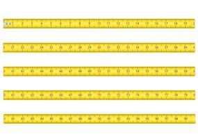 Maßband für Werkzeug Roulette-Vektor-Illustration